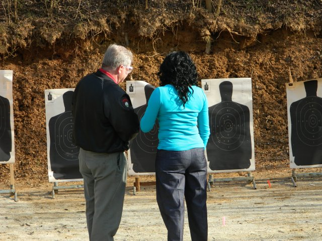 Shooting instructor consultation