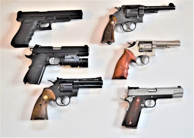 home defense handgun options