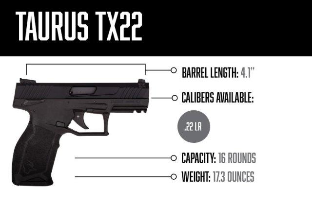 taurus handguns - tx22