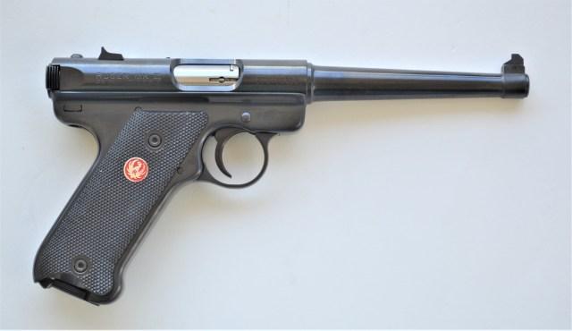 older shooters handgun - ruger standard