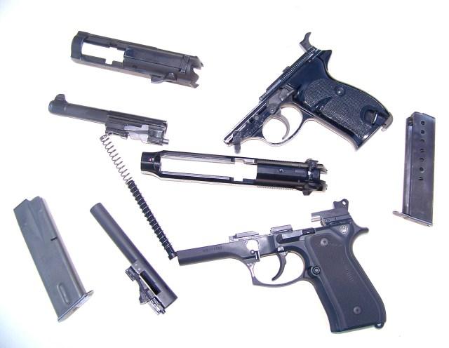 9mm Beretta illustration