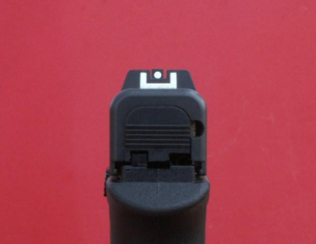 G42 rear sights