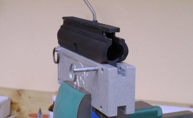 AR-15 install barrel