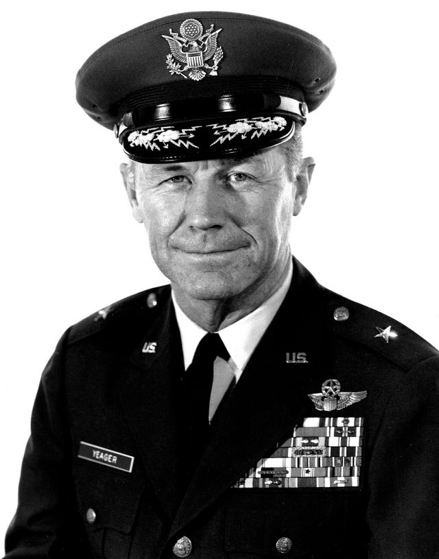 chuck yeager air force legend
