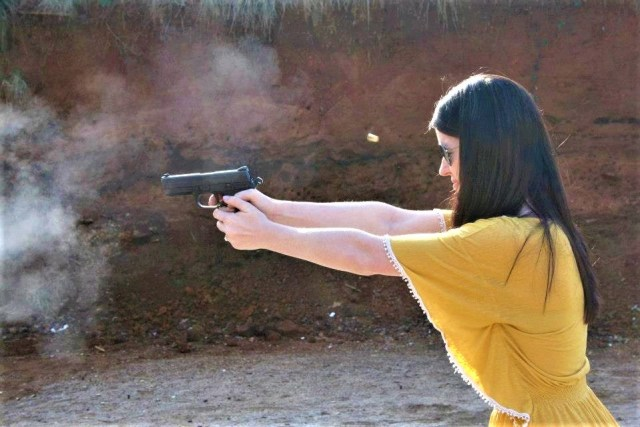 FN .45 ACP in action