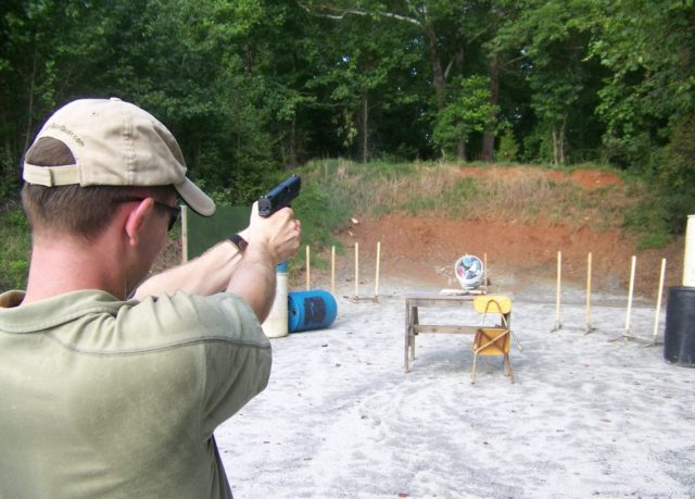 .45 ACP in action