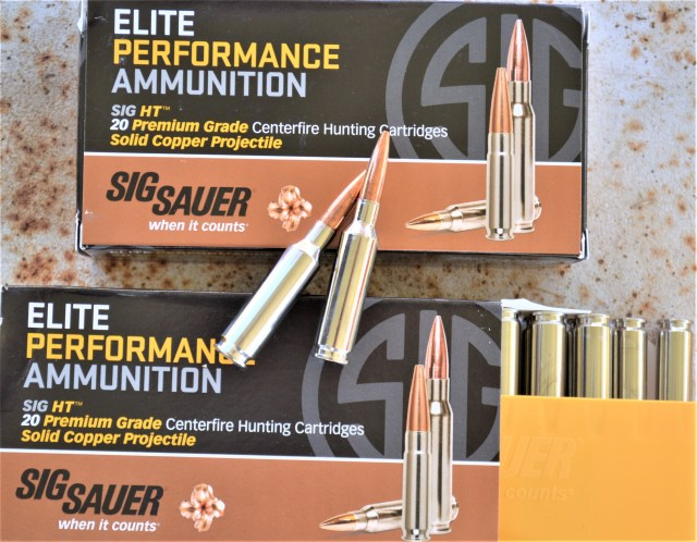 SIG Sauer all-copper hunting load