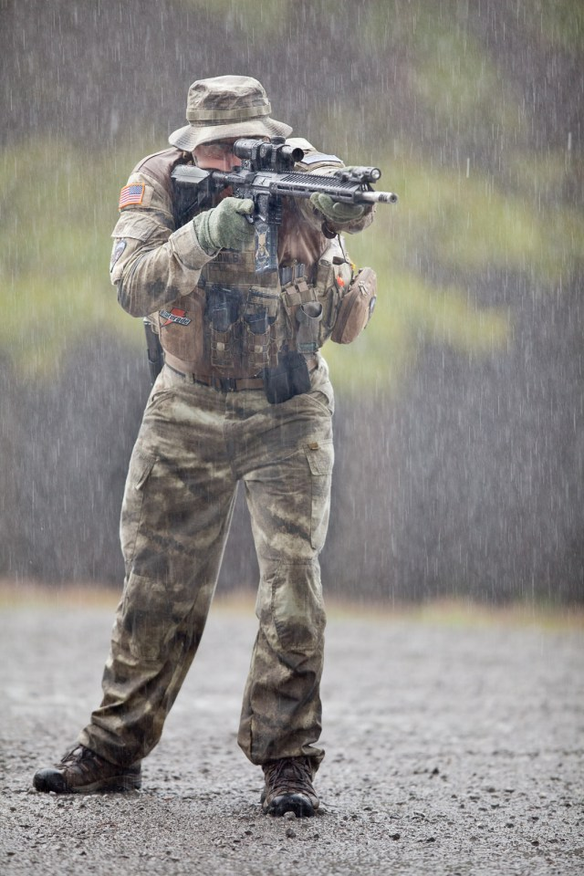 rain waterproof rifle