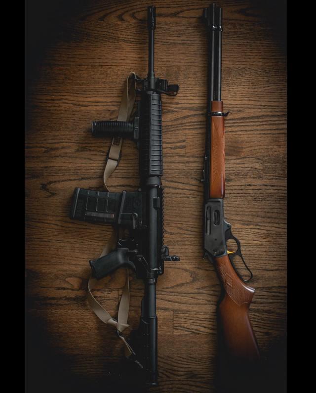range day friday rifles