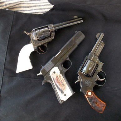 .357 Magnum, .45 ACP and .44 Special