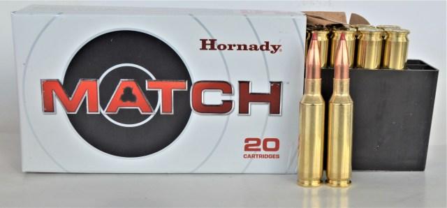 6.5 Creedmoor match ammo