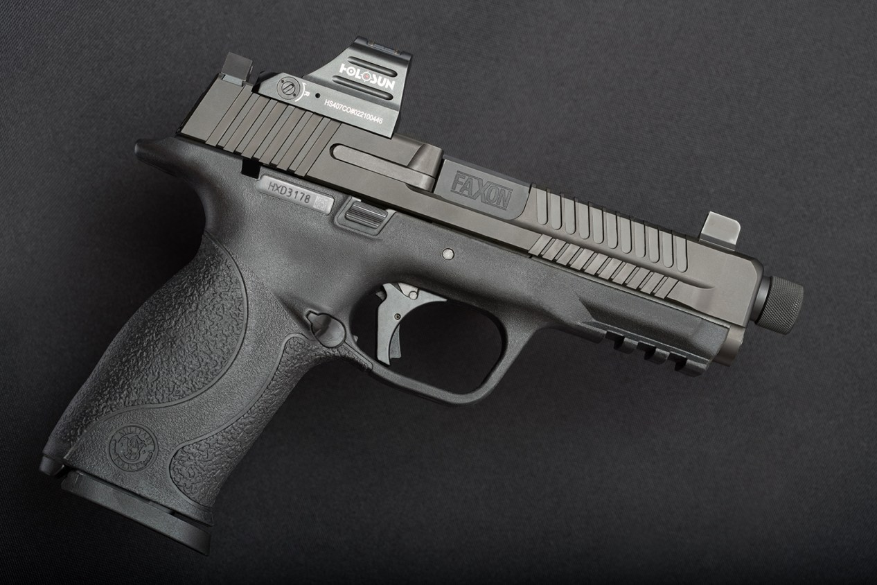 M&P 9mm - Faxon Slide