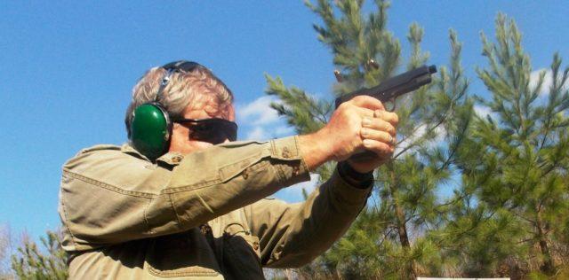 .45 ACP - handgun weight