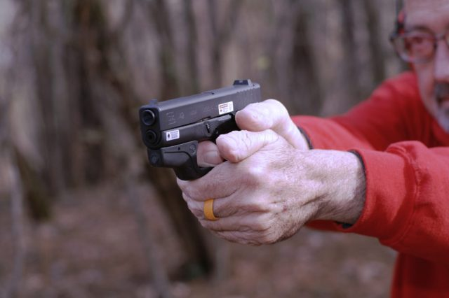 Gripping Small Handguns