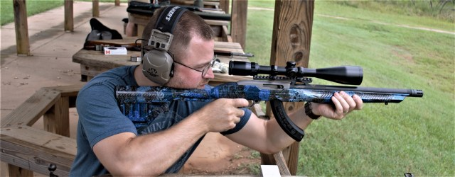 Ruger .22 target rifle