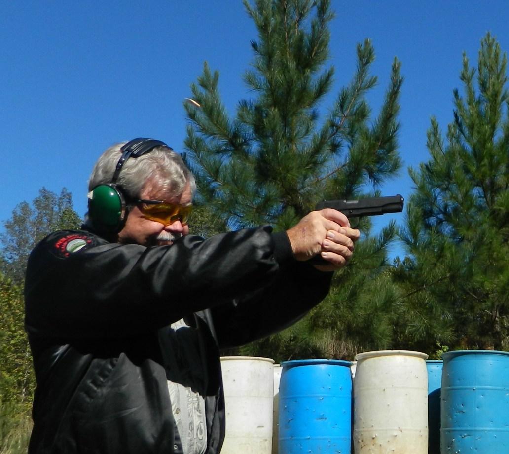 Shooting .38 Super