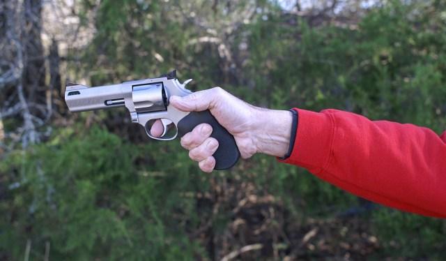 Pistol Grip - Avoiding Recoil
