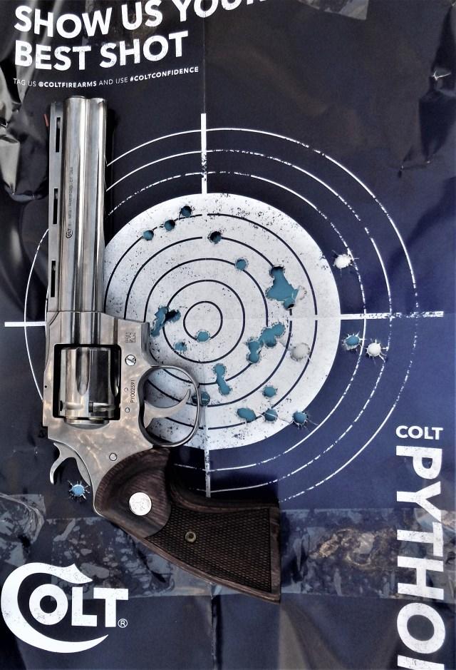 Colt Python Target
