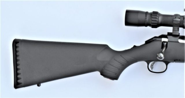 Ruger American 7mm-08 - Recoil Pad and Stock Serrations