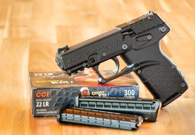Kel-Tec P17 with CCI Mini Mag