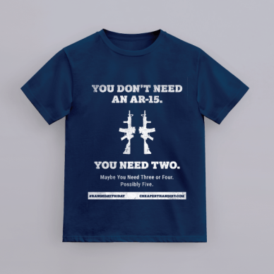 range day friday t-shirt | AR-15 tee