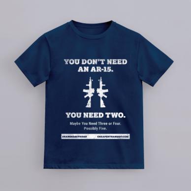 range day friday t-shirt   AR-15 tee
