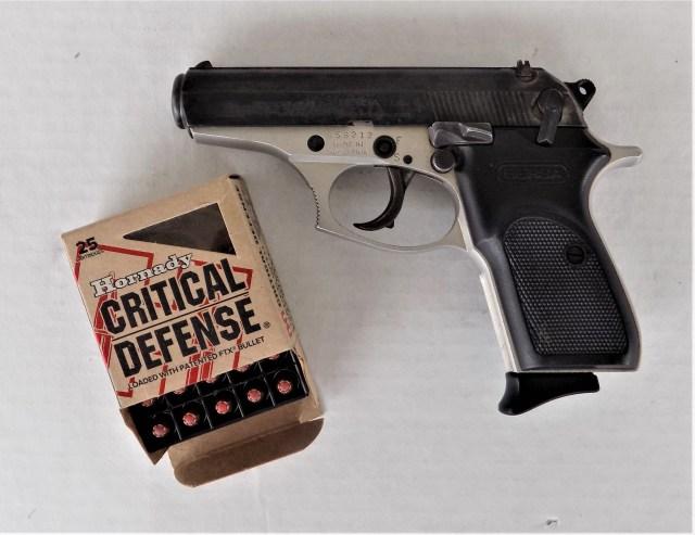 .380 ACP Ammo and Handgun