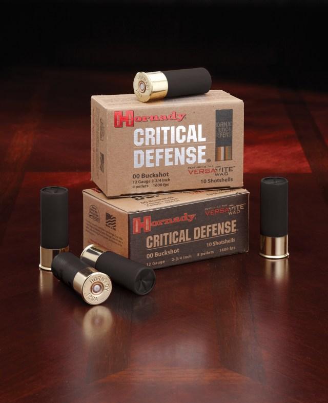 shotgun training - hornady critical defense