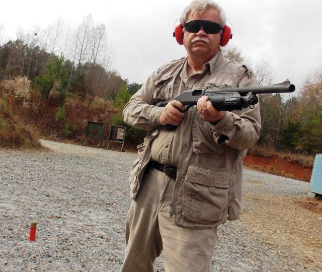 shotgun training - eye level