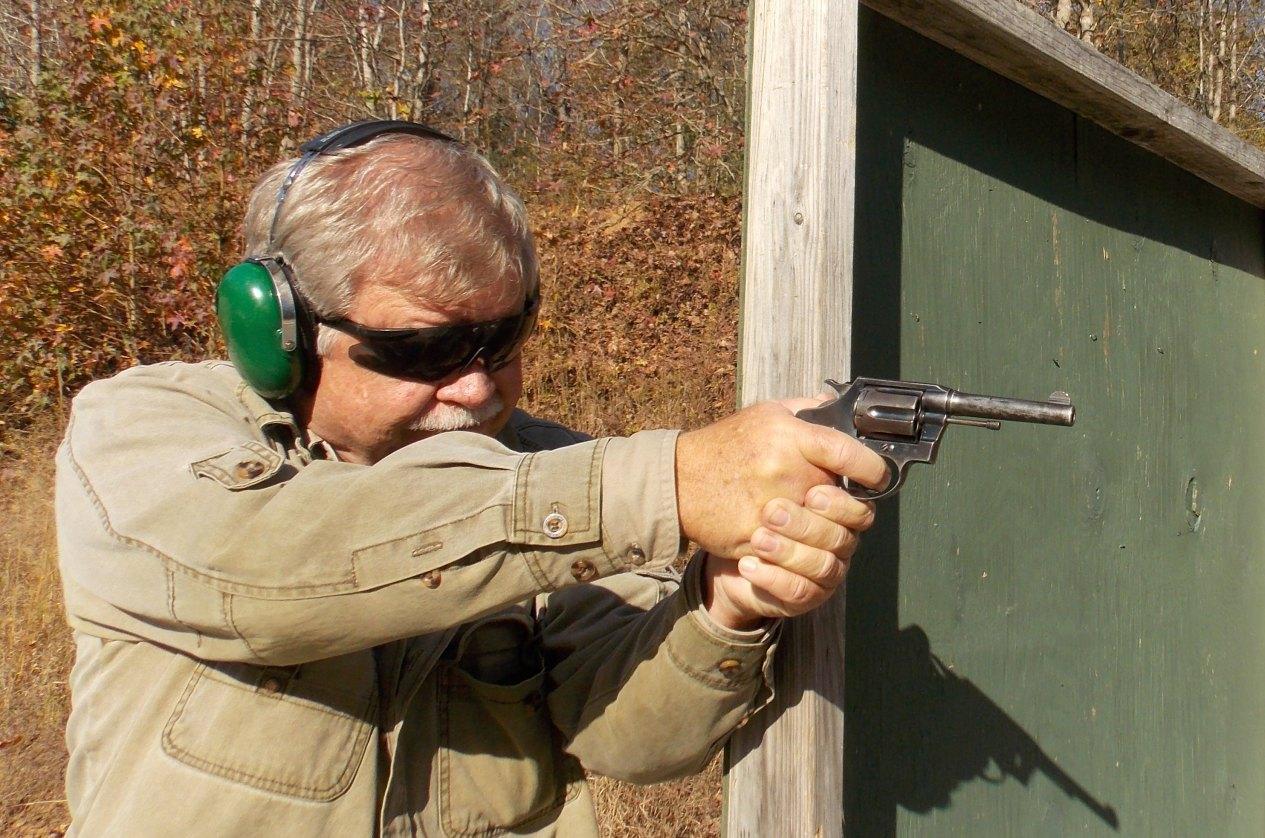 Practical Police Course Shooting Revolver