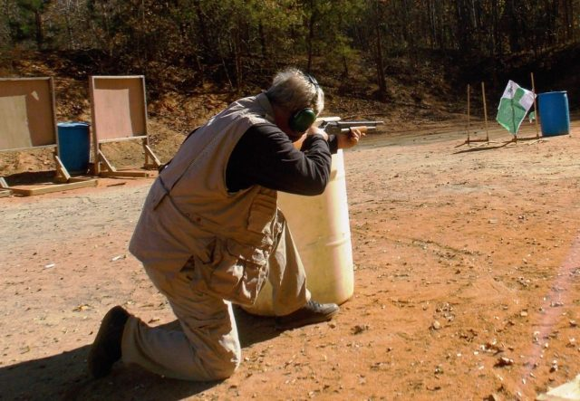 shotgun training - cover training