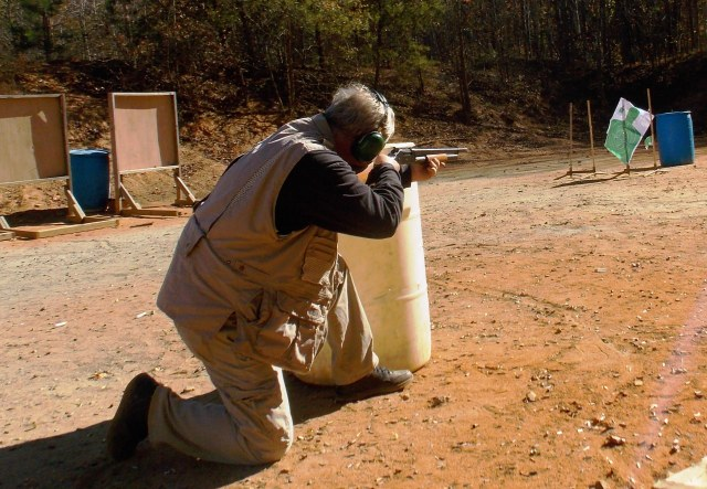 shotgun training - cover training