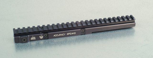 Long-Range Shooting Rail