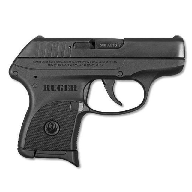 Original Ruger LCP on white background