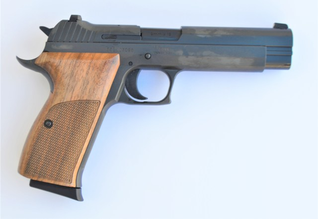 SIG P210A Side View