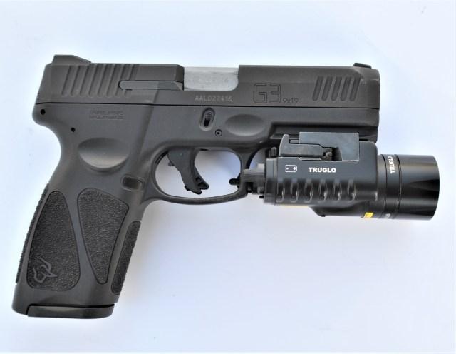 Taurus G3 with TruGlo Combat Light