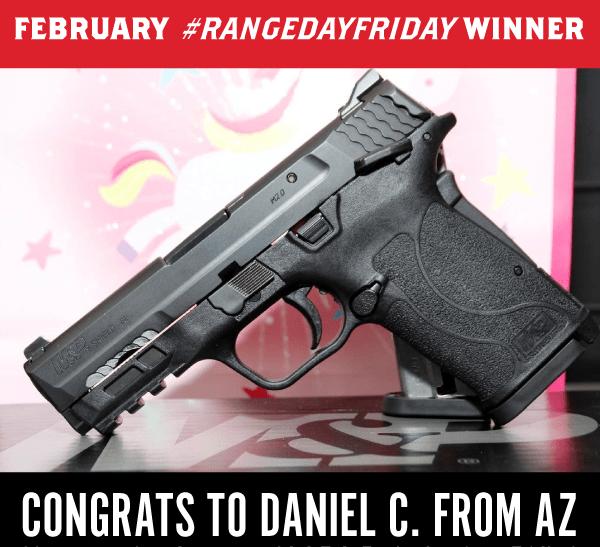range day friday winner - february 2020