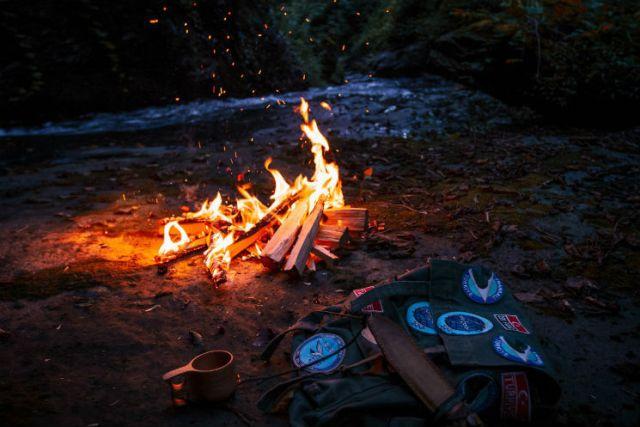 camping supplies - fire