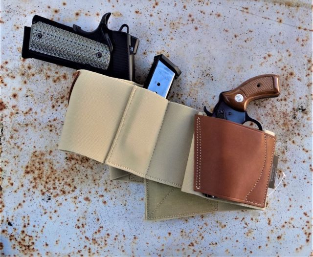 Galco Belly Band Wrap-Around Holster