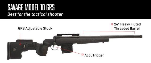 6.5 creedmoor rifles - savage model 10