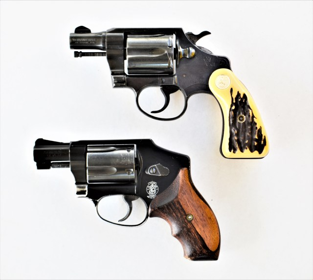 Two Snub-Nose Revolvers