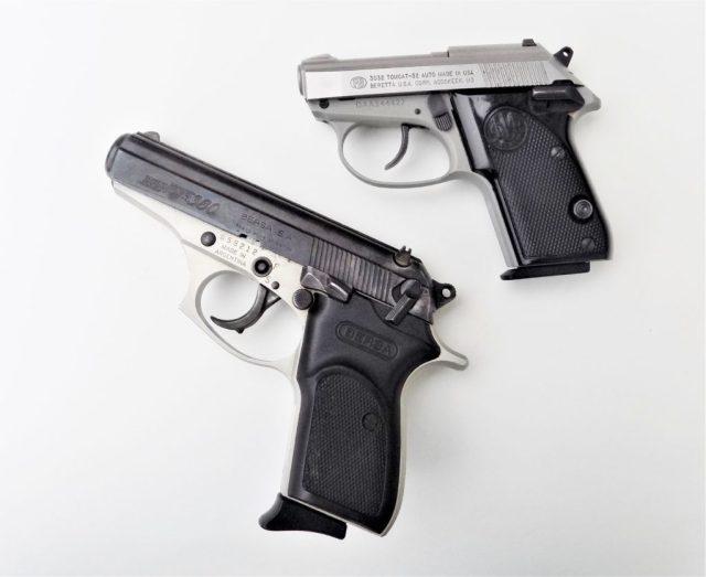 Bersa and Beretta Handguns