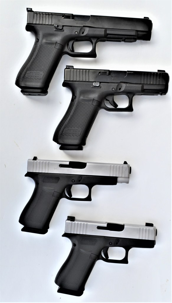 Four GLOCK Pistols