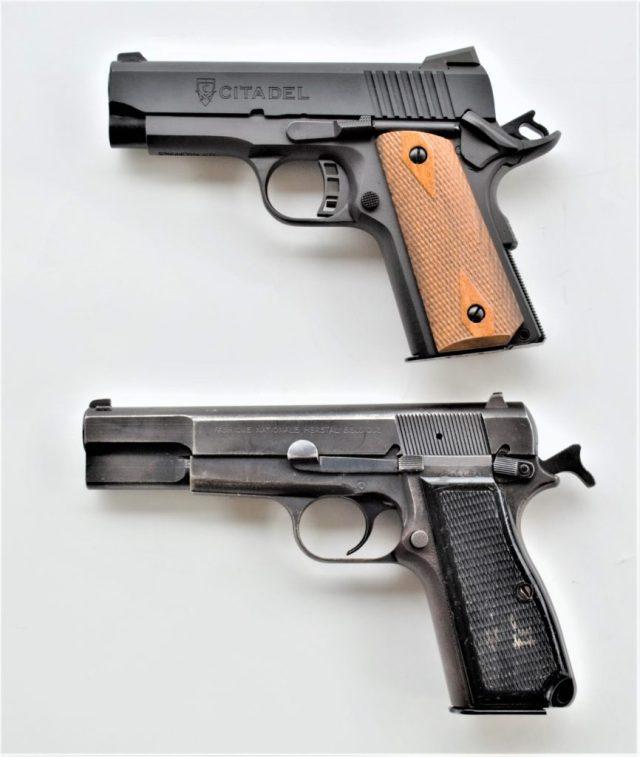 Browning Hi-Power and 1911 Handguns