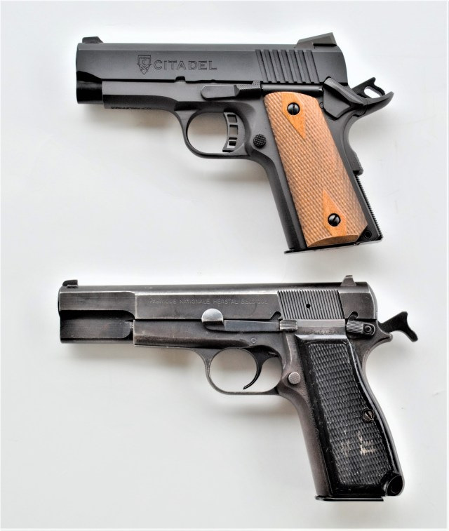 Browning Hi-Power and 1911 Handguns
