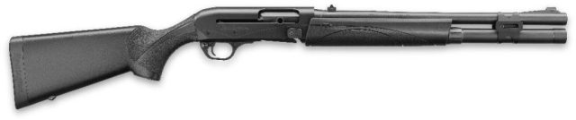 Remington 12-gauge shotgun