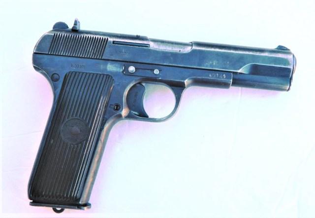 Tokarev TT-33 .32 Caliber Pistol