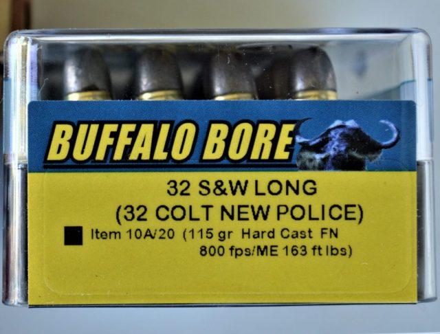 Buffalo Bore .32 Smith and Wesson Long