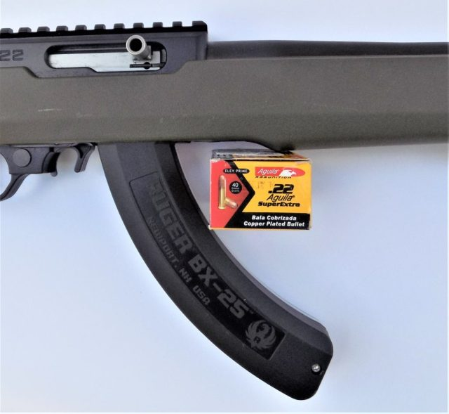 Aguila Super Extra High-Velocity Ammo and Rifle