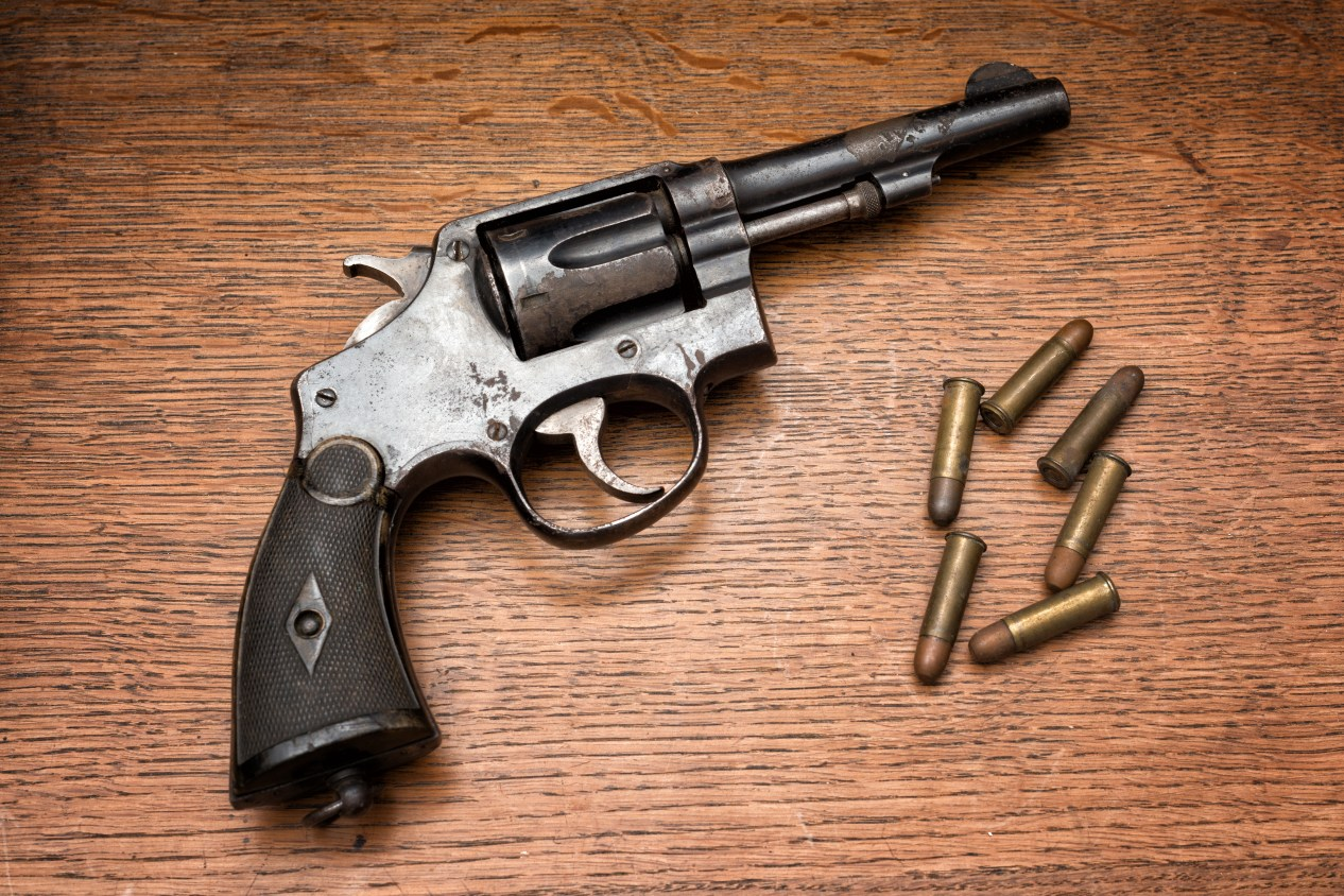 Old Smith & Wesson M&P Revolver